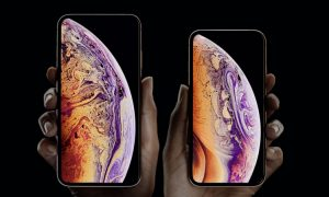 iPhone XS header