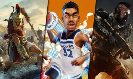 Game reviews NBA Playgrounds AC Odyssey BLOPS 4