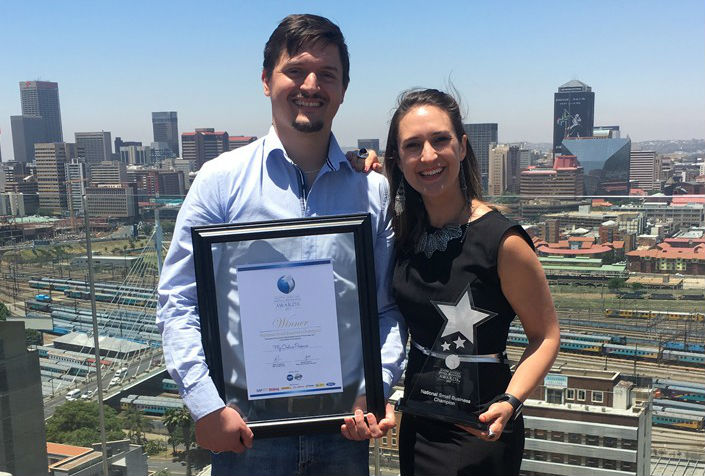 My Online Presence business award