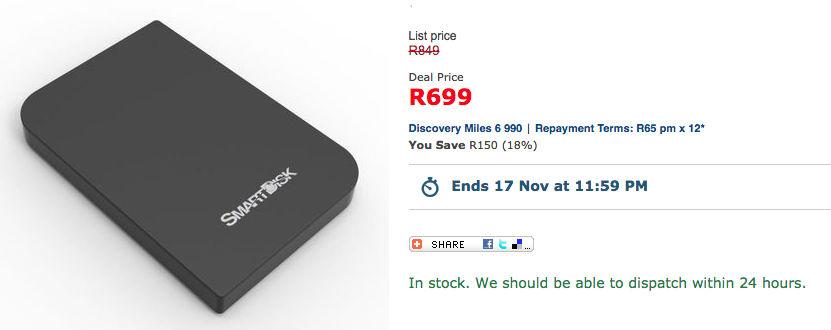 SmartDisk by Verbatim 25 External Hard Drive