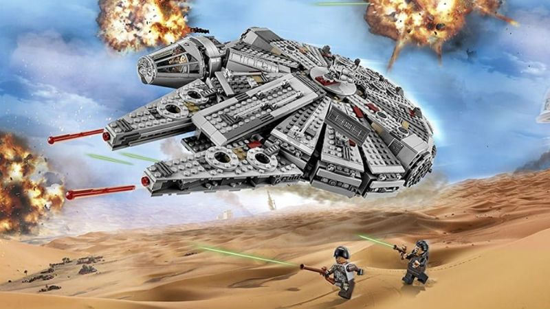 Lego Star Wars Falcon header