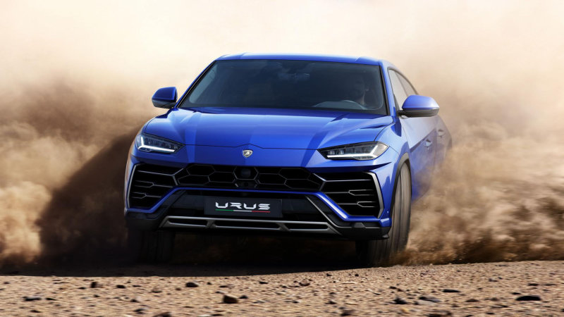 Lamborghini S Upgraded Off Road Beast Aims To Take On Land Rover