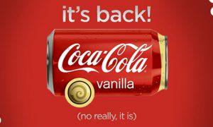 Coke Cola Vanilla