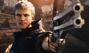 DMC 5 header Nero