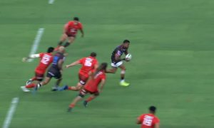 Lionel Mapoe try vs Sunwolves