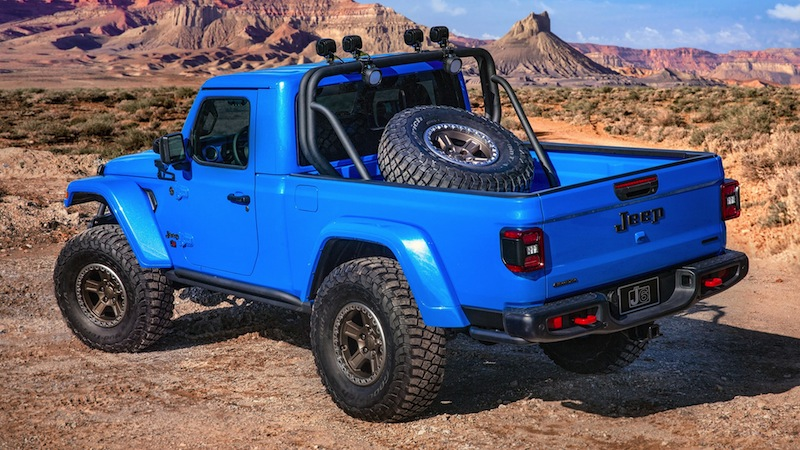 Jeep's Single-Cab Bakkie is a Sight to Behold - We Need it ...