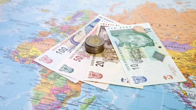 Rands travel shopping spending