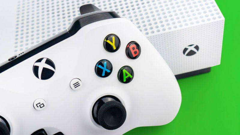 Xbox One S special console header