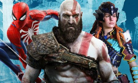 God of War Spiderman Horizon PS4
