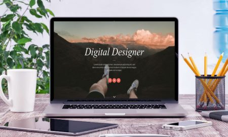 Digitise mockup header