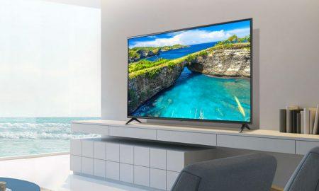 LG 49 inch TV header