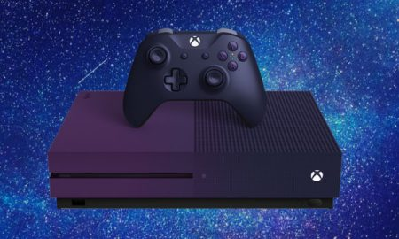 Xbox One S Gradient Purple header