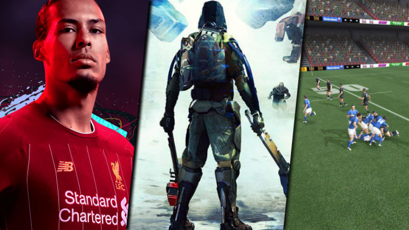 Game reviews FIFA 20 Surge 2 Rugby Champions