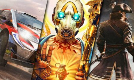 Game reviews WRC8 Borderlands 3 Greedfall
