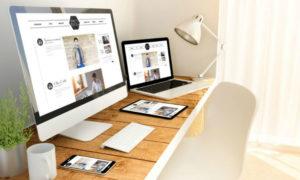 Website design header