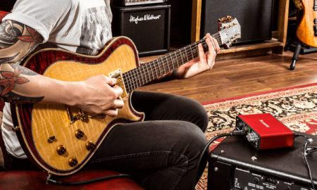 Scarlett header guitar music