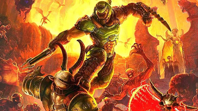 Doom Eternal review header