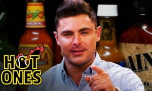 Hot Ones Zac Efron (1)
