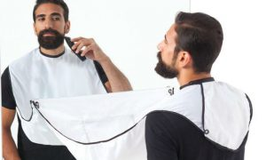 Beard apron header