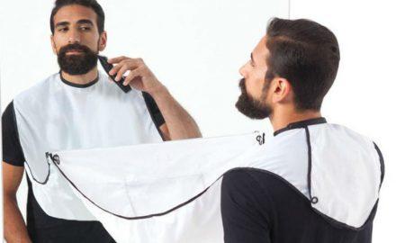 Beard apron header