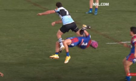 Ponga shoulder charge