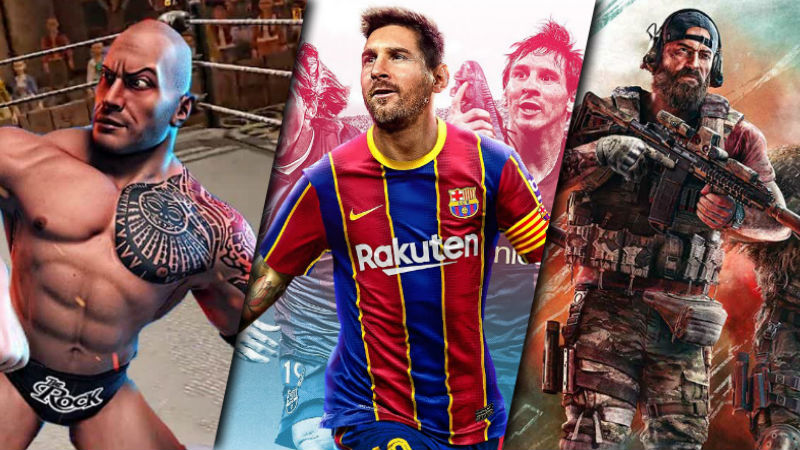 WWE Battlegrounds PES 2021 Ghost Recon Breakpoint Red Patriot