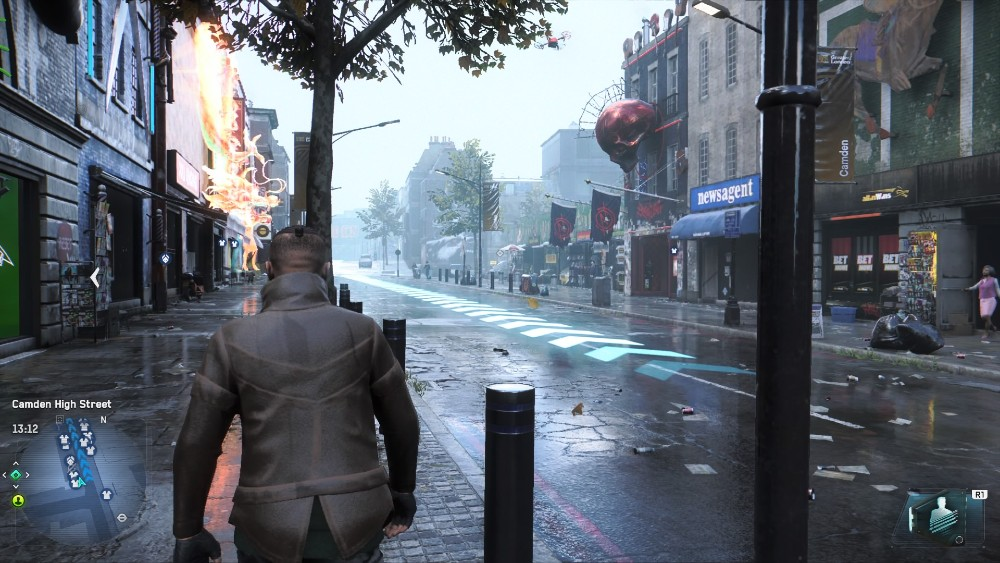 Watch Dogs screenshot legion 1