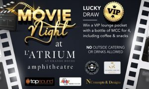 Latrium movie night