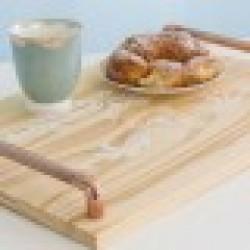 Copper Wood tray